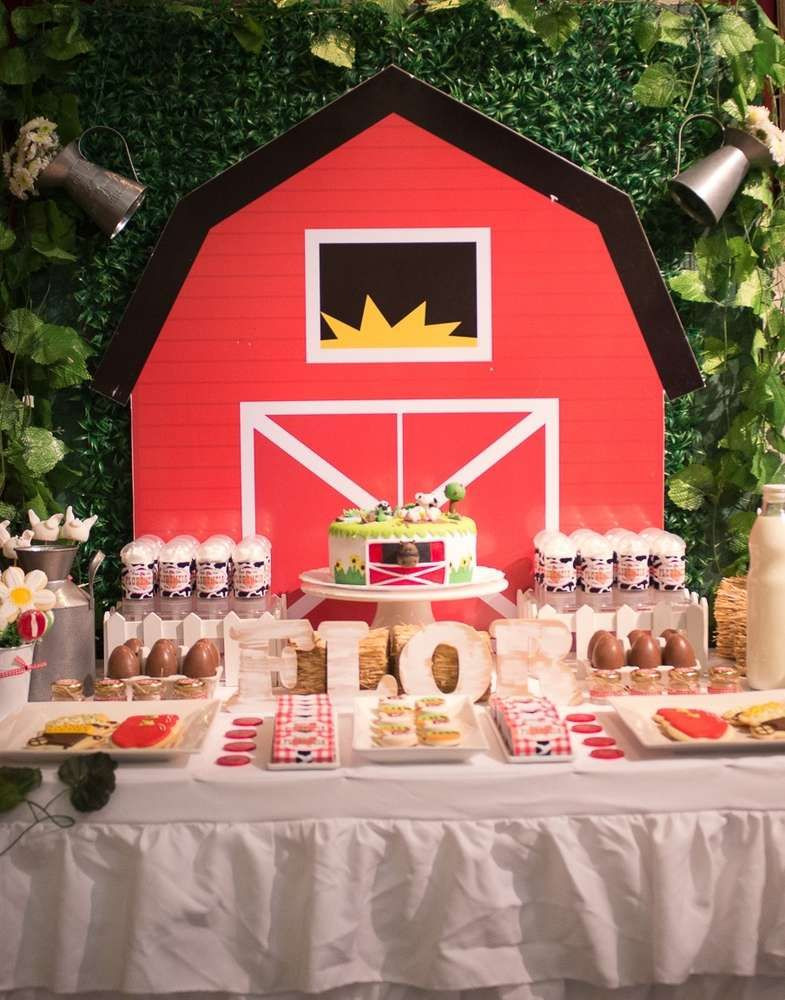 Best ideas about Barn Birthday Party . Save or Pin Farm Birthday Party Ideas in 2019 Now.