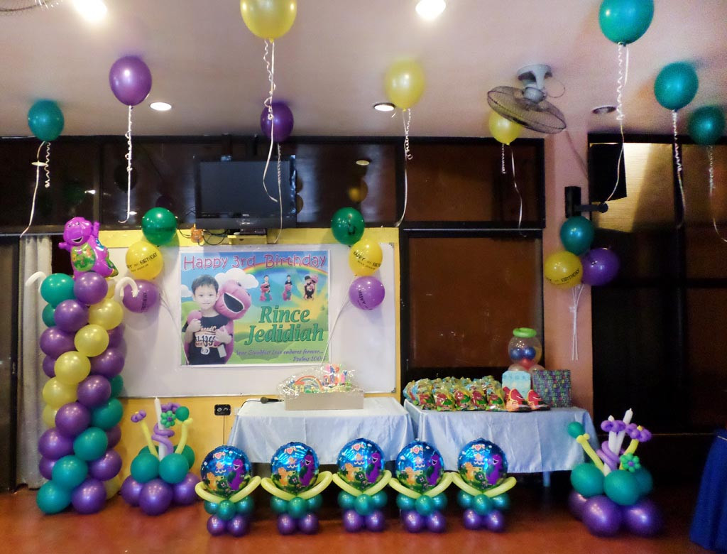 Best ideas about Barney Birthday Party Supplies . Save or Pin Home Party Ideas Now.