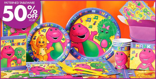 Best ideas about Barney Birthday Party Supplies . Save or Pin PartyCity Barney theme supplies Now.