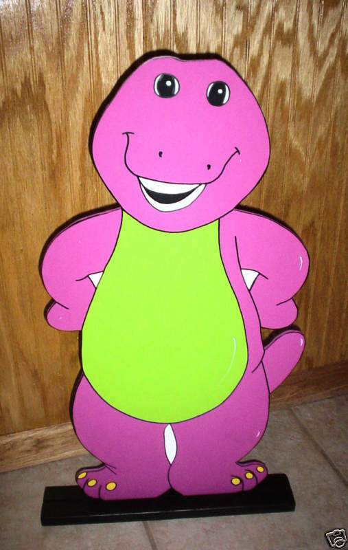 Best ideas about Barney Birthday Party Supplies . Save or Pin Barney stand up children s Birthday party decorations Now.