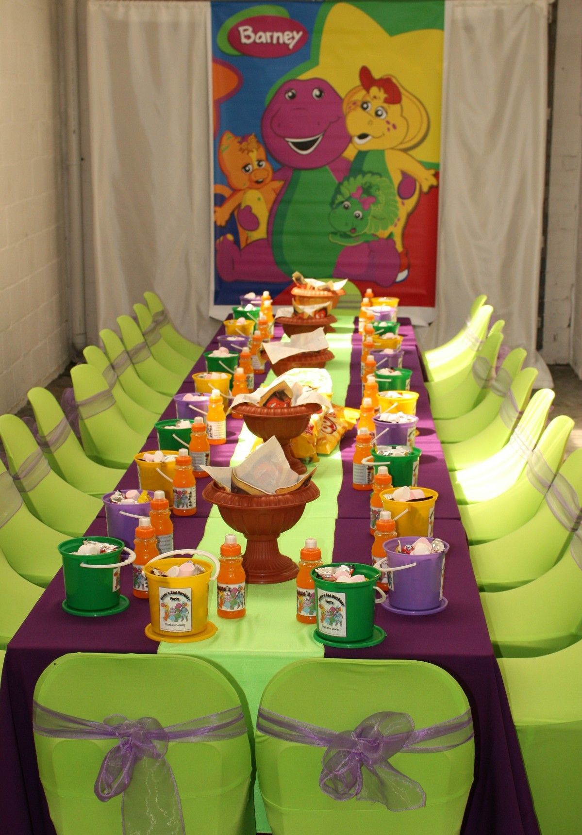 Best ideas about Barney Birthday Party Supplies . Save or Pin Barney Theme Party Kids Zone Pinterest Now.