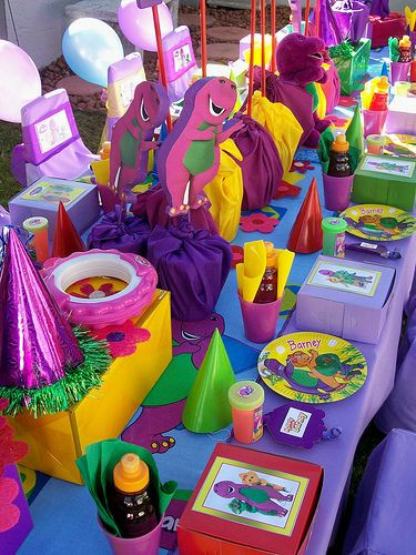 Best ideas about Barney Birthday Party Supplies . Save or Pin 30 best images about Barney Party Ideas on Pinterest Now.