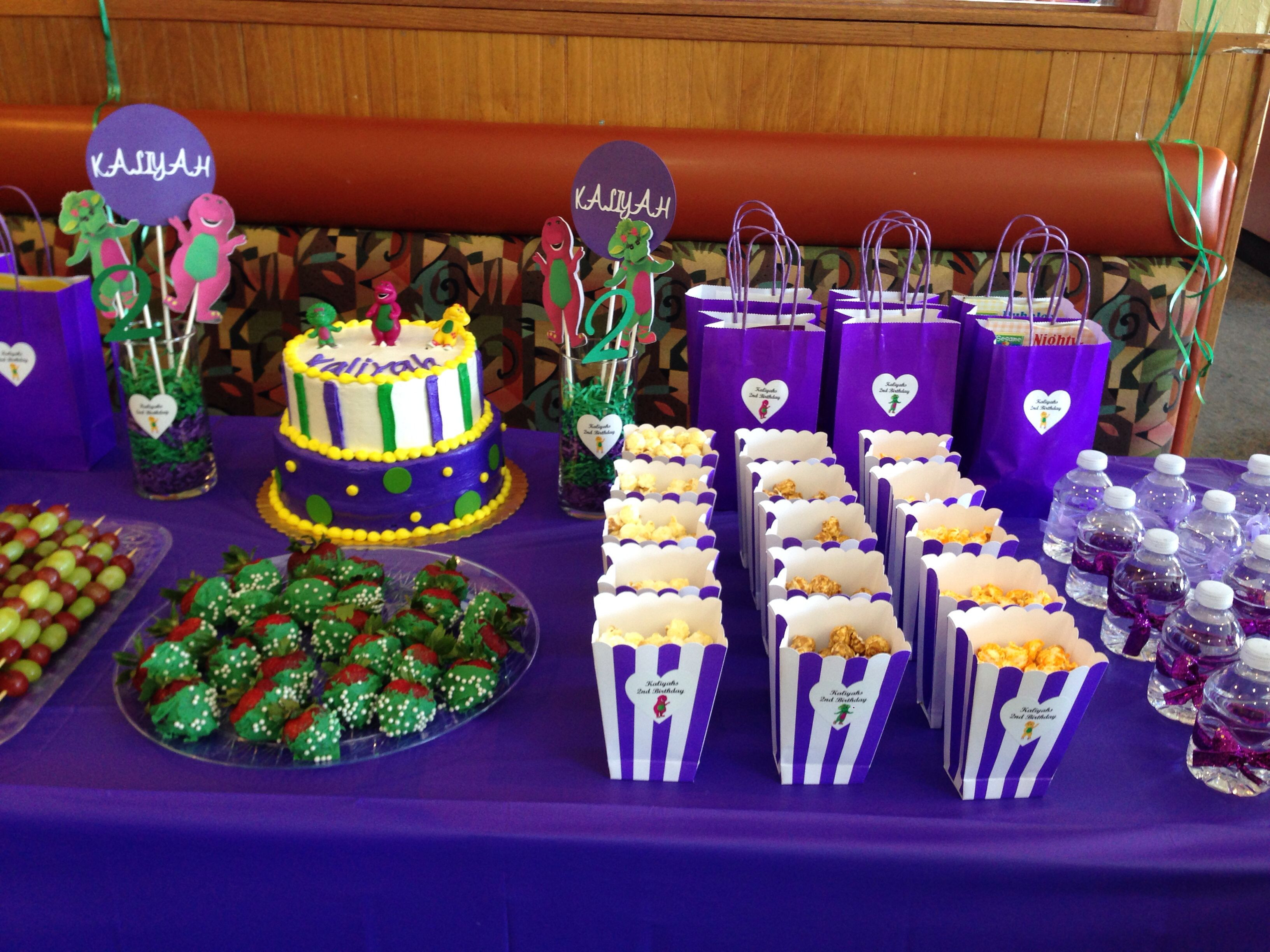 Best ideas about Barney Birthday Party Supplies . Save or Pin Barney birthday party theme Barney party ideas Barney Now.