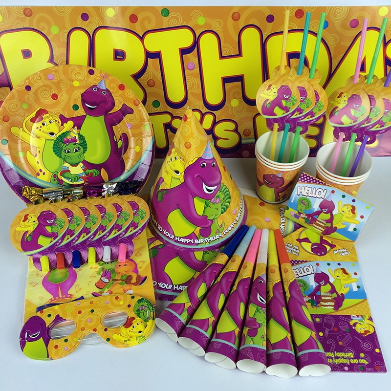 Best ideas about Barney Birthday Party Supplies . Save or Pin Popular Barney Party Supplies Buy Cheap Barney Party Now.