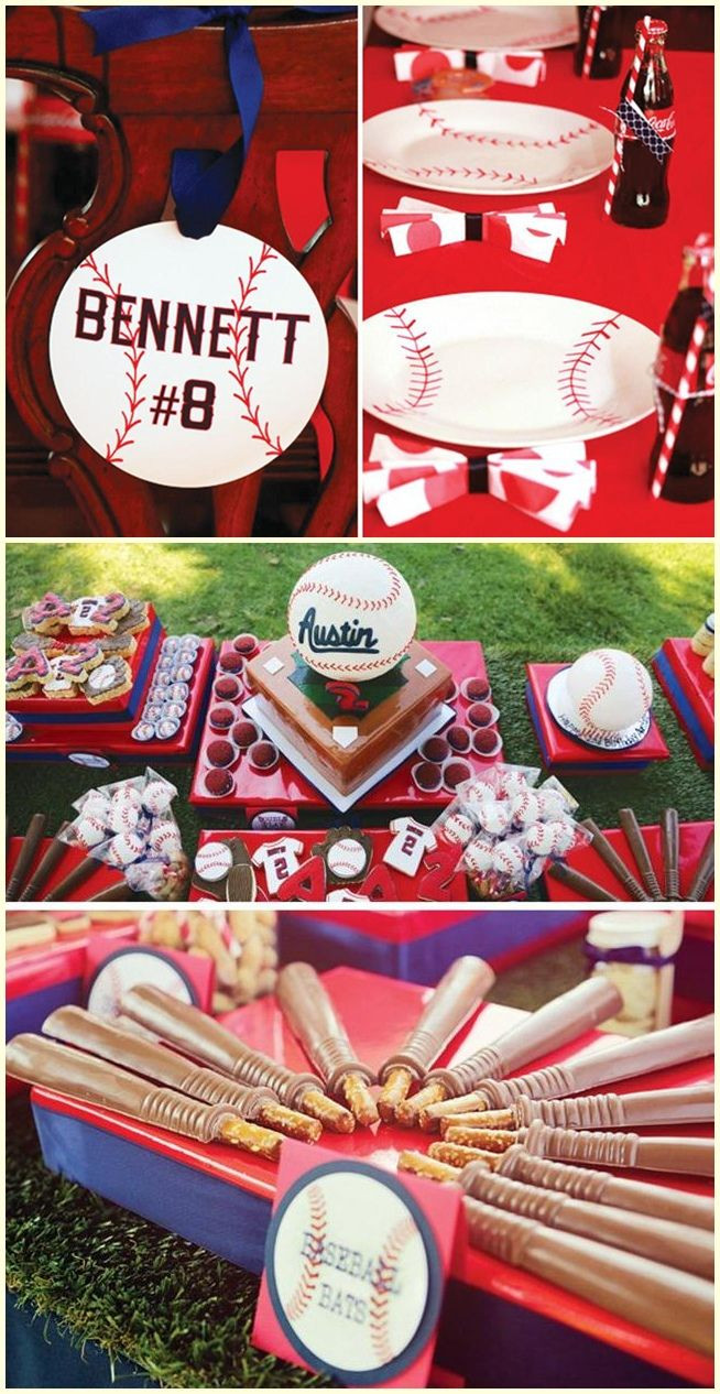 Best ideas about Baseball Themed Birthday Party . Save or Pin Best 25 Baseball party centerpieces ideas on Pinterest Now.