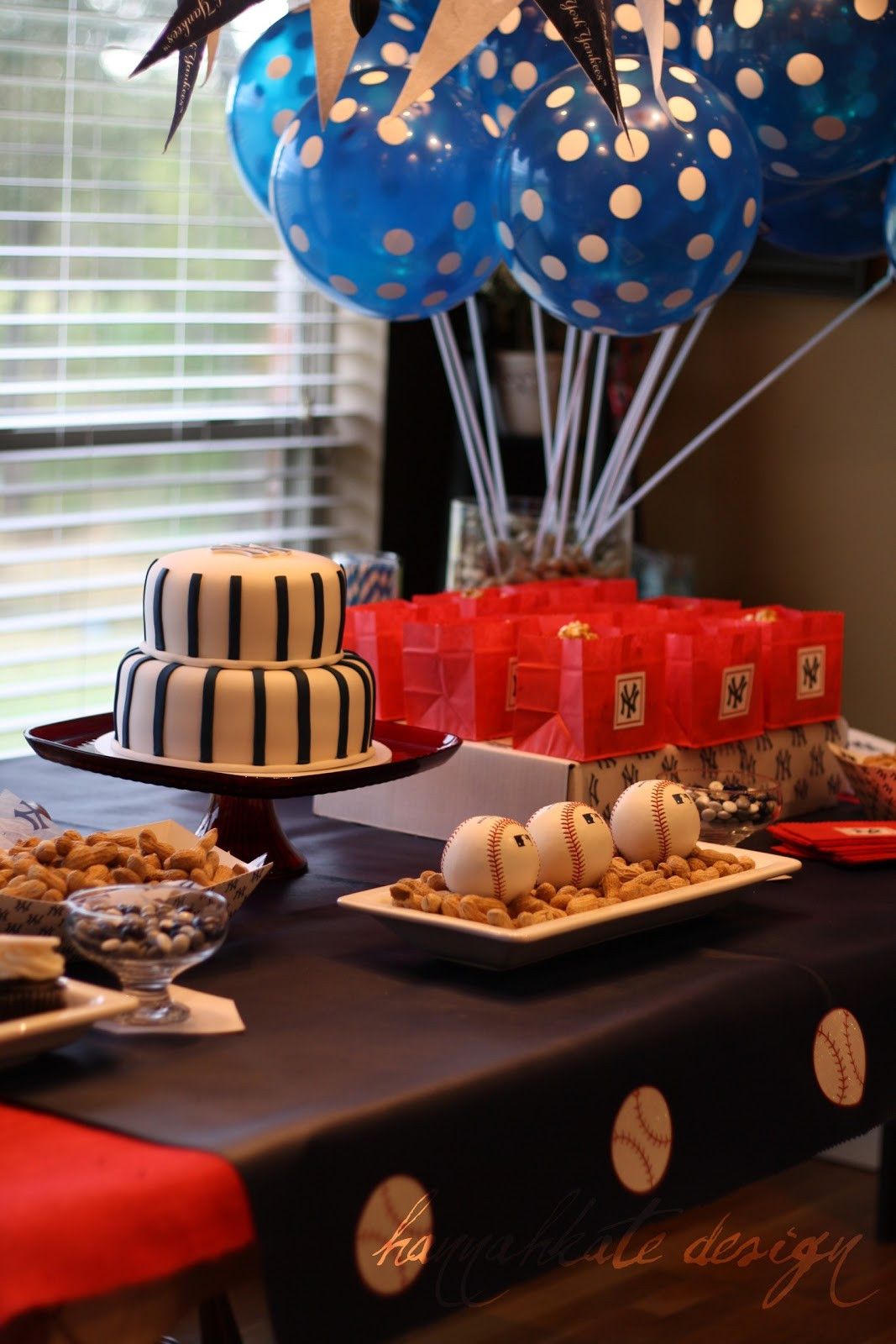 Best ideas about Baseball Themed Birthday Party . Save or Pin The Gaines Gang A Yankee Baseball Birthday Party Now.