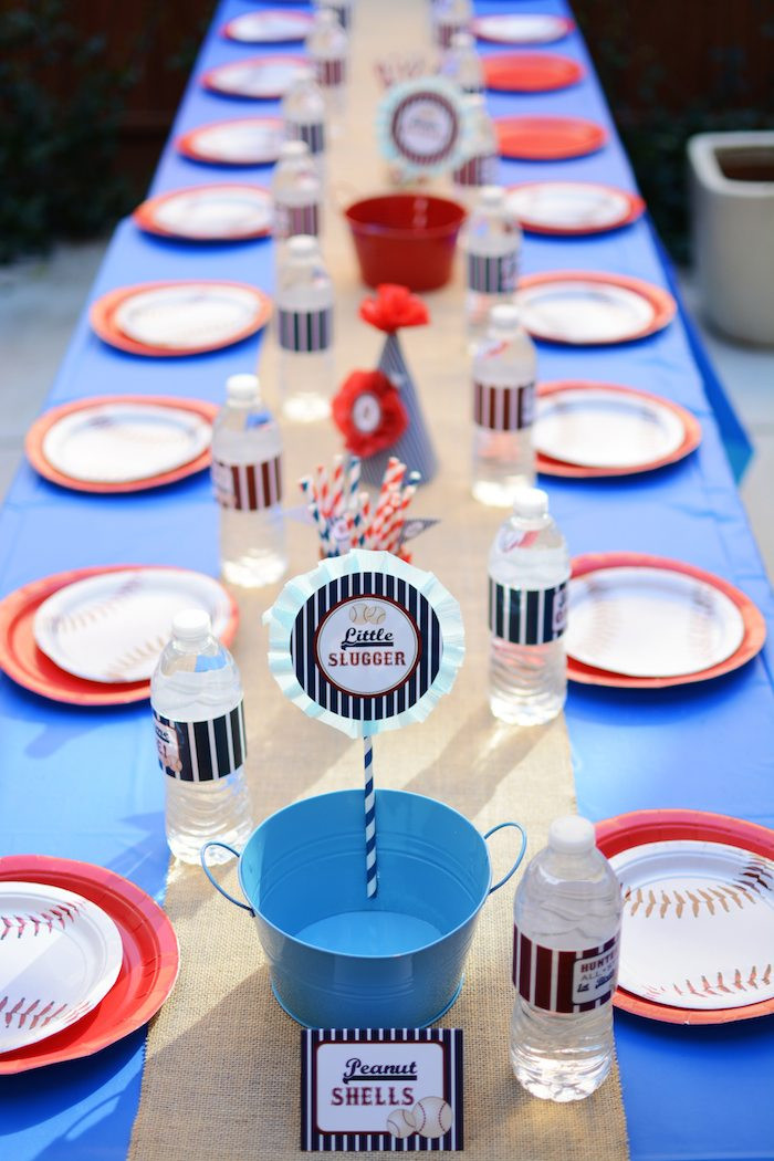 Best ideas about Baseball Themed Birthday Party . Save or Pin Kara s Party Ideas Home ONE Baseball Themed Birthday Now.