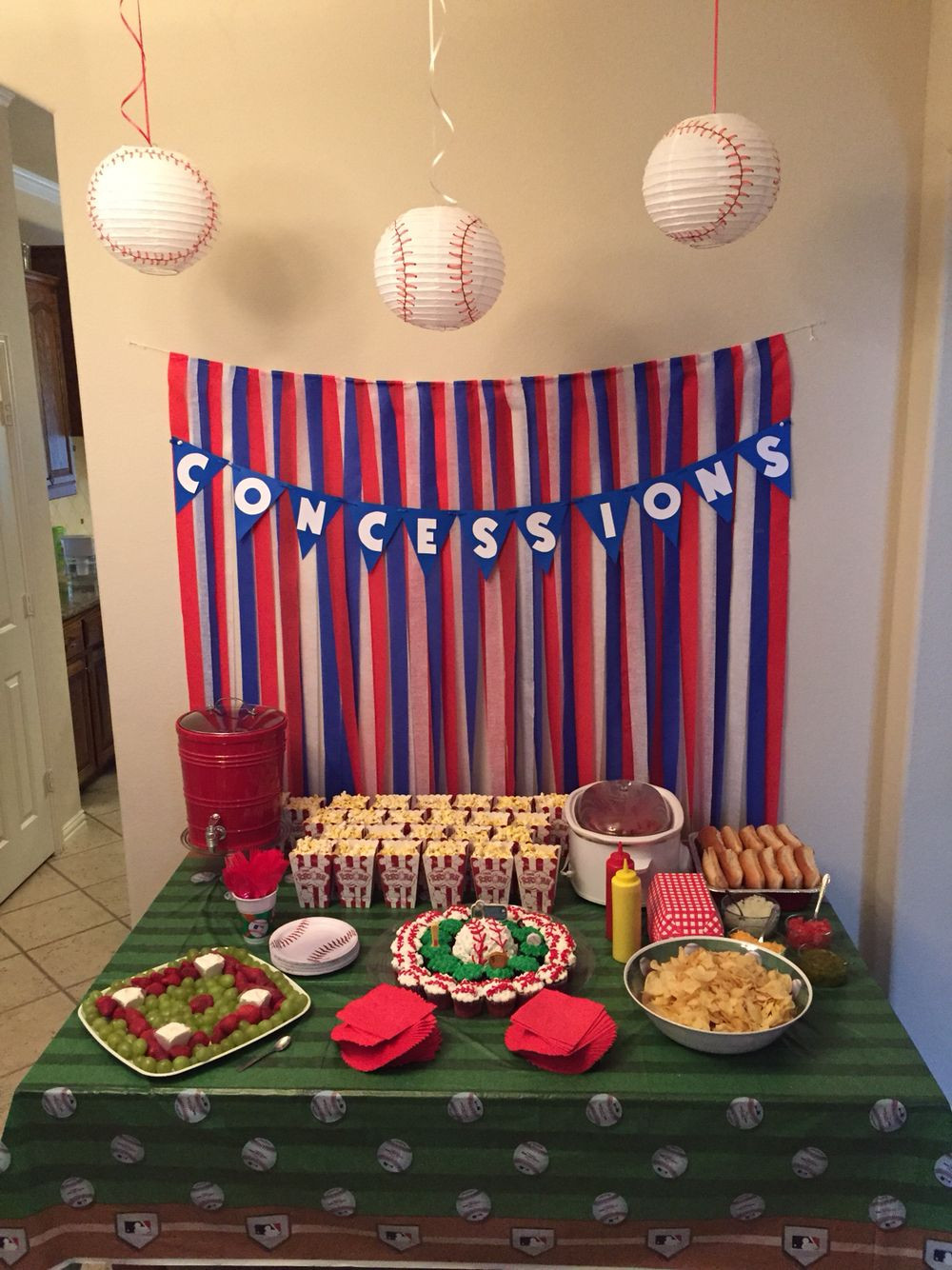 Best ideas about Baseball Themed Birthday Party . Save or Pin Baseball themed Birthday party Now.