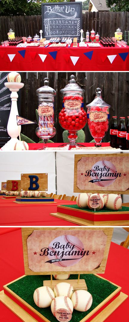 "Best ideas about Baseball Themed Birthday Party . Save or Pin FunFavors Events Thursday Party ""Batter Up"" Baseball Party Now."
