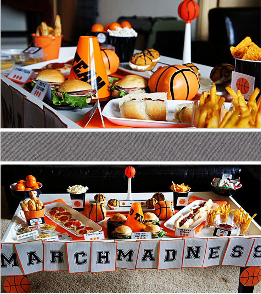 Best ideas about Basketball Birthday Party . Save or Pin Basketball Party Ideas Now.