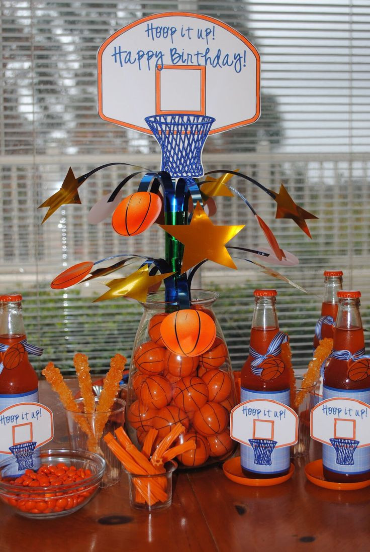 Best ideas about Basketball Birthday Party . Save or Pin 48 best images about basketball game day ideas on Now.