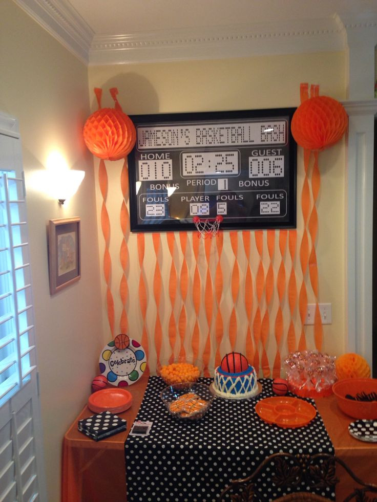 Best ideas about Basketball Birthday Party . Save or Pin Best 25 Basketball birthday parties ideas on Pinterest Now.