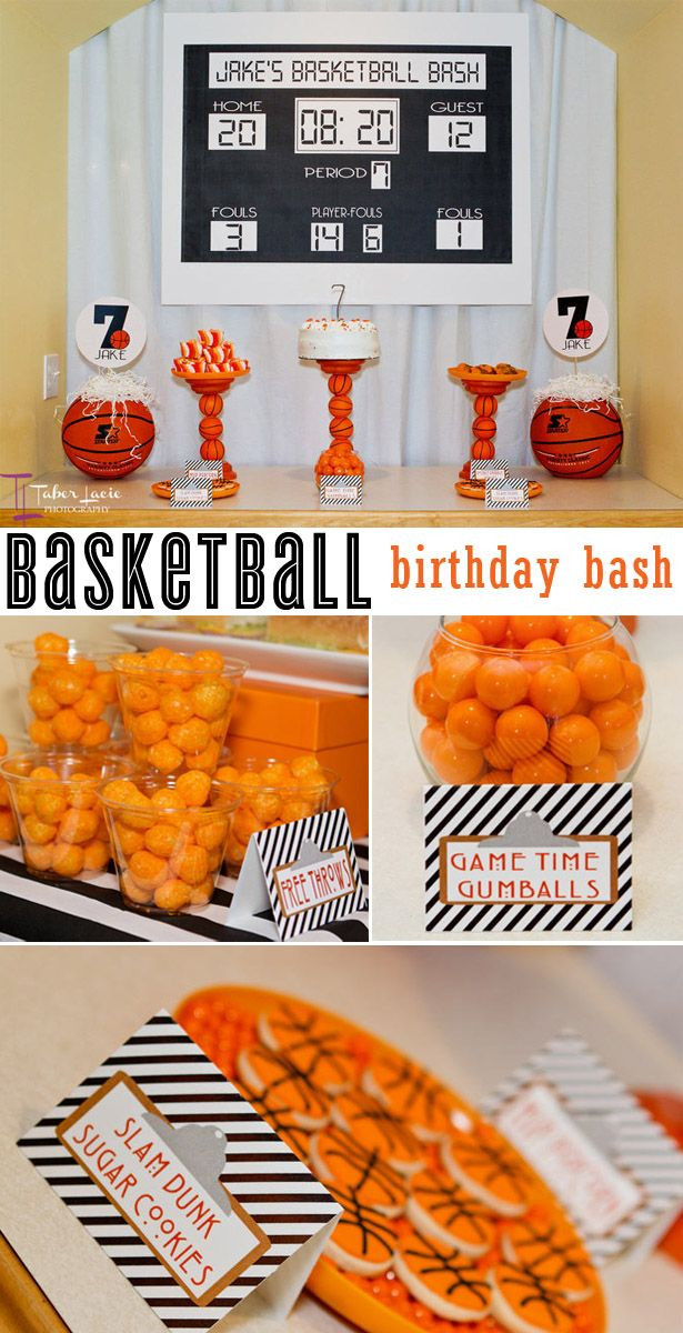 Best ideas about Basketball Birthday Party . Save or Pin basketball birthday bash Now.