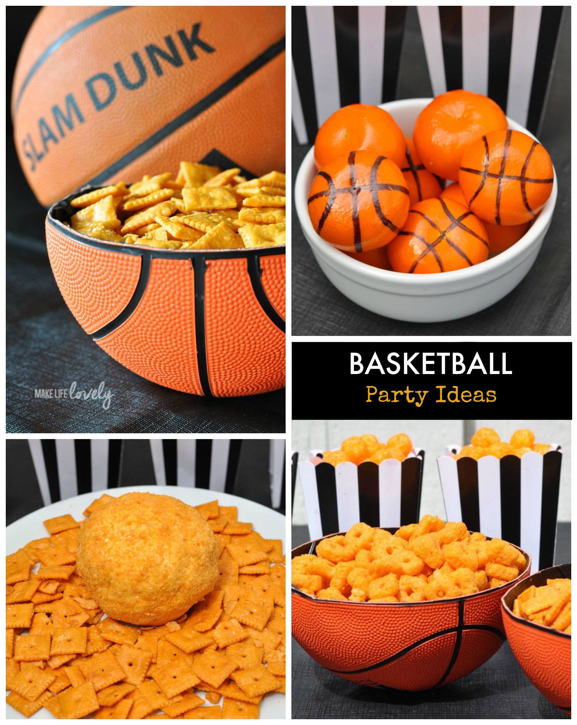 Best ideas about Basketball Birthday Party . Save or Pin Creative Basketball Party Ideas Make Life Lovely Now.