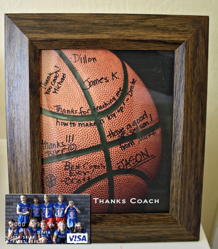 Best ideas about Basketball Coach Gift Ideas . Save or Pin Easy Basketball Coach Gift with Free Printable Now.
