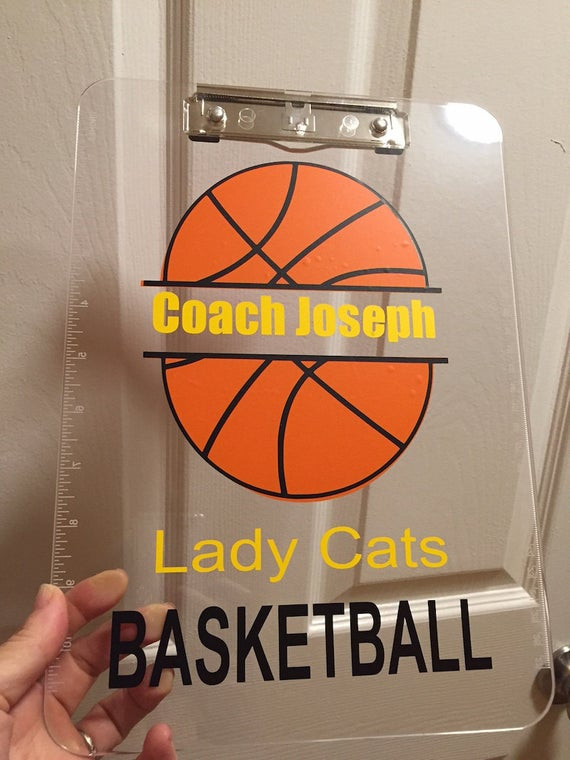 Best ideas about Basketball Coach Gift Ideas . Save or Pin Basketball Coach t personalized Clipboard by Now.