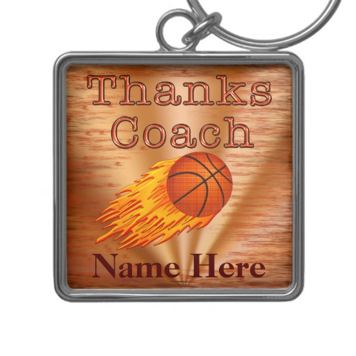 Best ideas about Basketball Coach Gift Ideas . Save or Pin Personalized Keychains Basketball COACH Gift Ideas Now.
