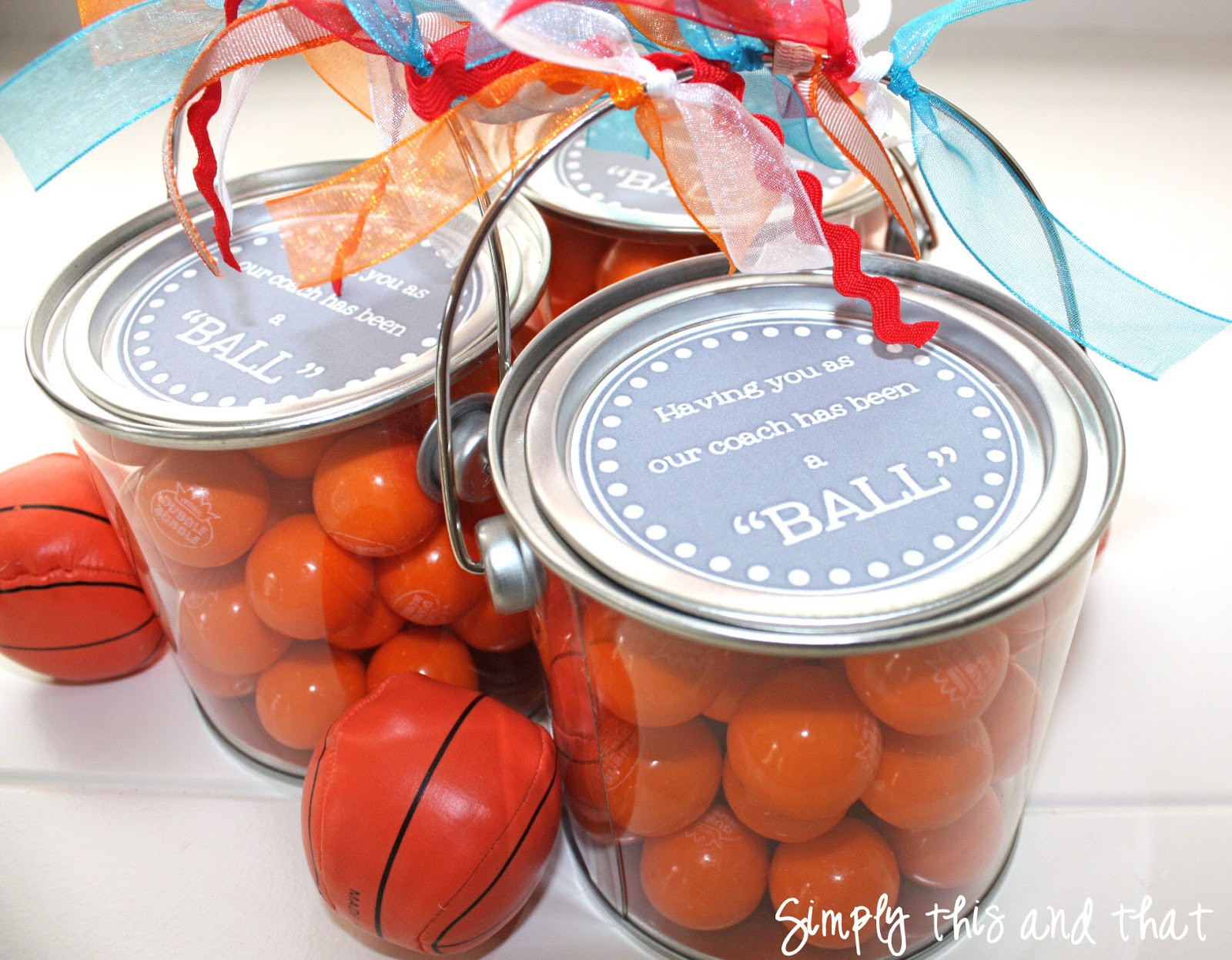 Best ideas about Basketball Coach Gift Ideas . Save or Pin Simply This and that Coach Teacher Gift Now.