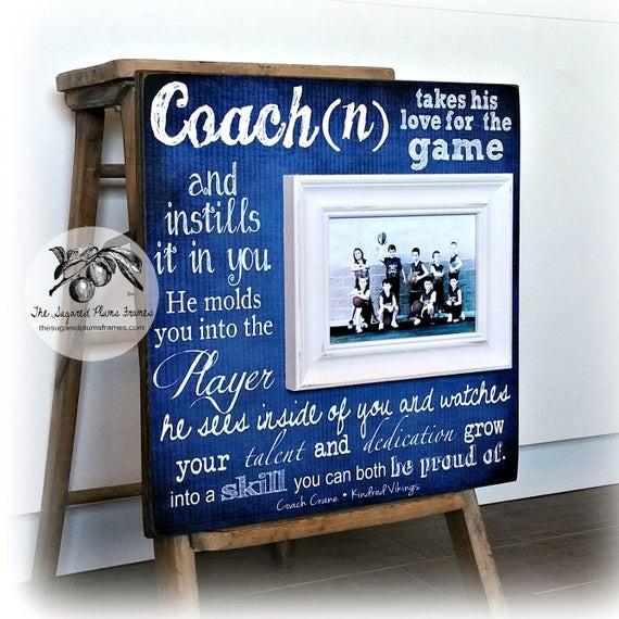 Best ideas about Basketball Coach Gift Ideas . Save or Pin Basketball Coach Gift Coach Gift Idea Soccer Coach Now.