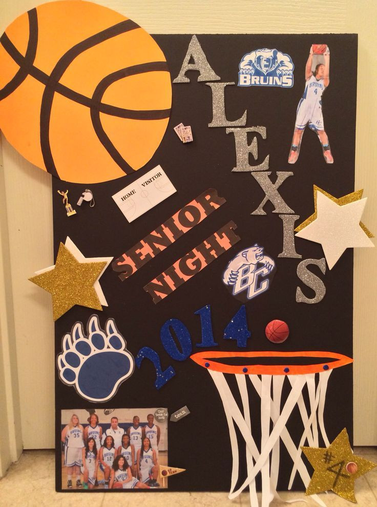Best ideas about Basketball Senior Night Gift Ideas . Save or Pin NEED TO MAKE sports Pinterest Now.