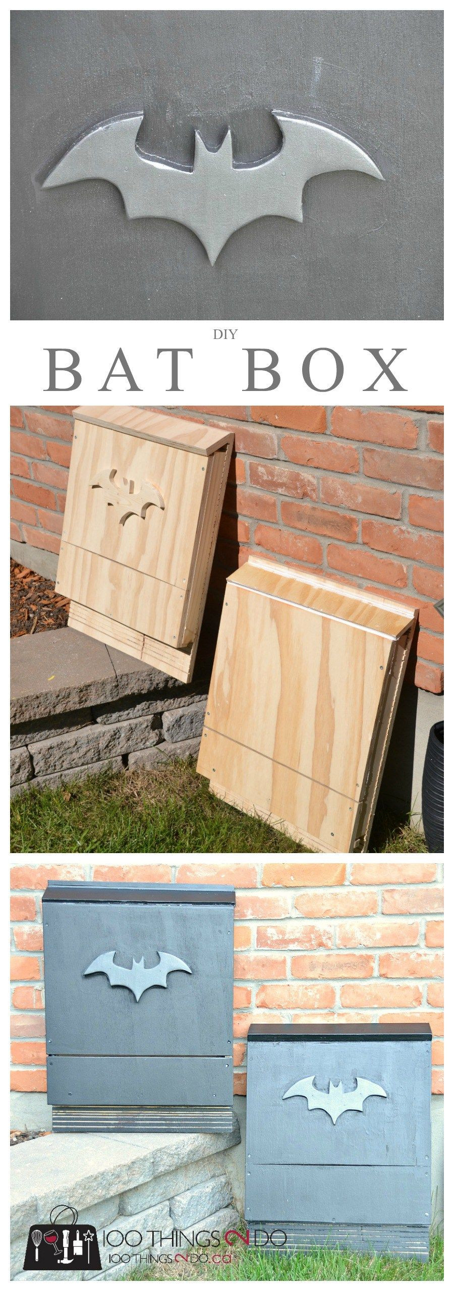 Best ideas about Bat Box DIY . Save or Pin DIY bat box wood projects Now.