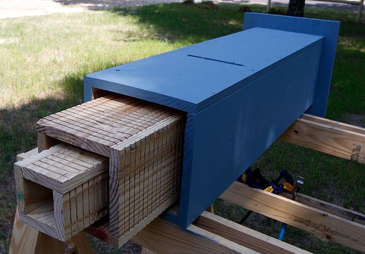 Best ideas about Bat Box DIY . Save or Pin Rocket style bat house Backyard ideas Now.