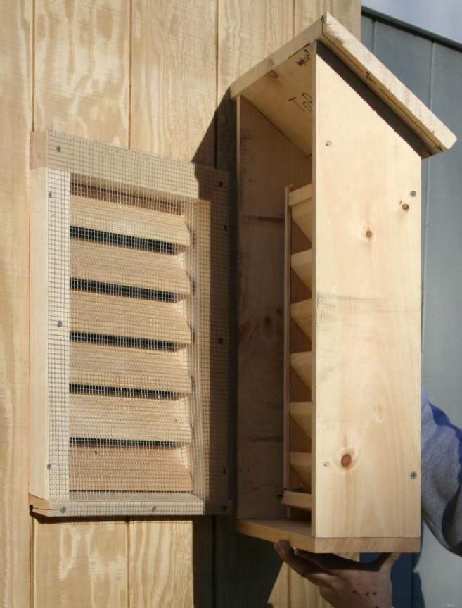 Best ideas about Bat Box DIY . Save or Pin Bat Guys The Suburban Bat House Now.