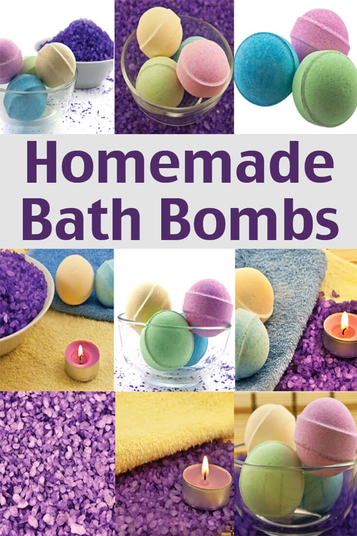 Best ideas about Bath Bombs DIY . Save or Pin Homemade Bath Bombs Recipe Living on a Dime Now.