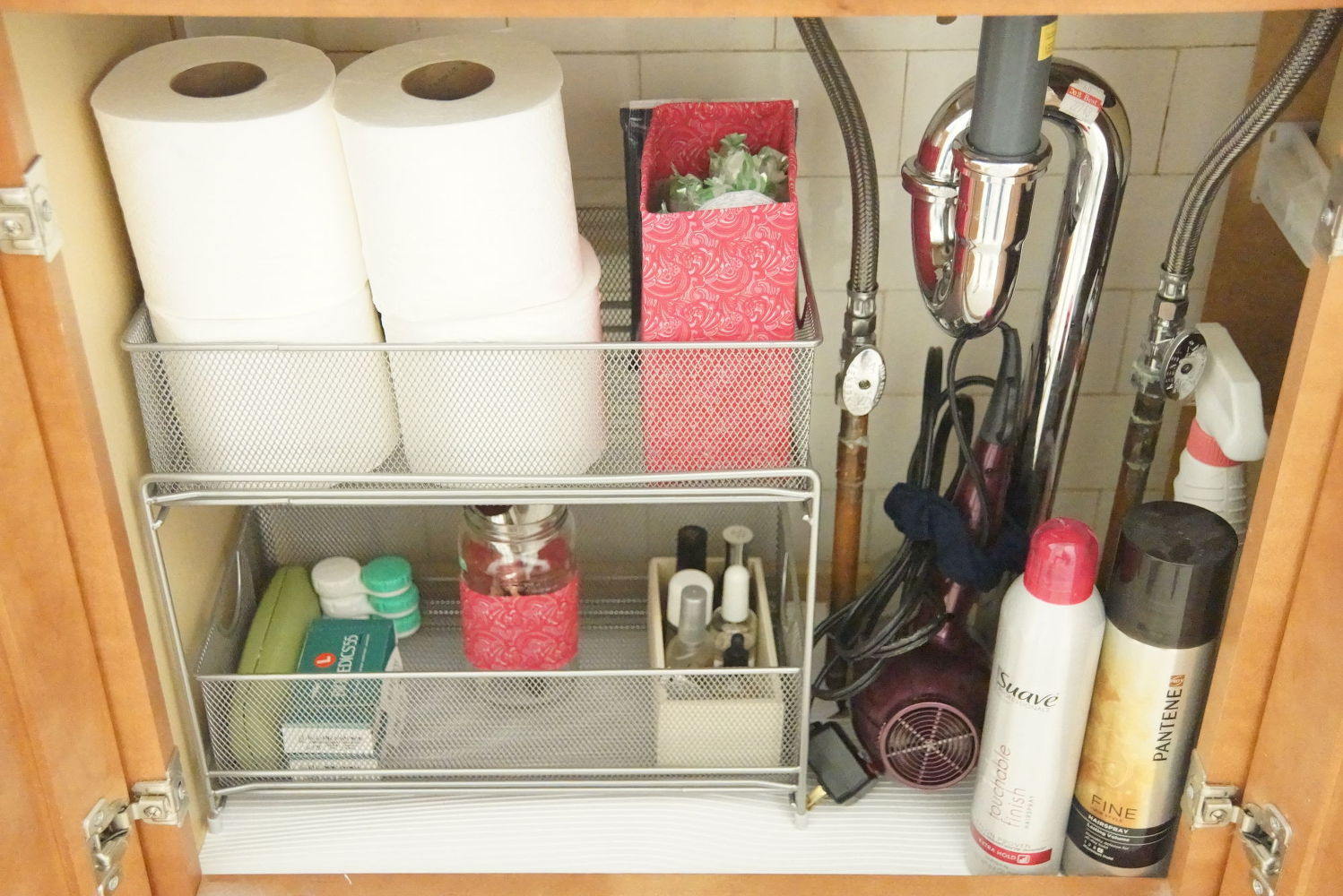 Best ideas about Bathroom Sink Organizer . Save or Pin The 15 Smartest Storage Hacks For Under Your Sink Now.
