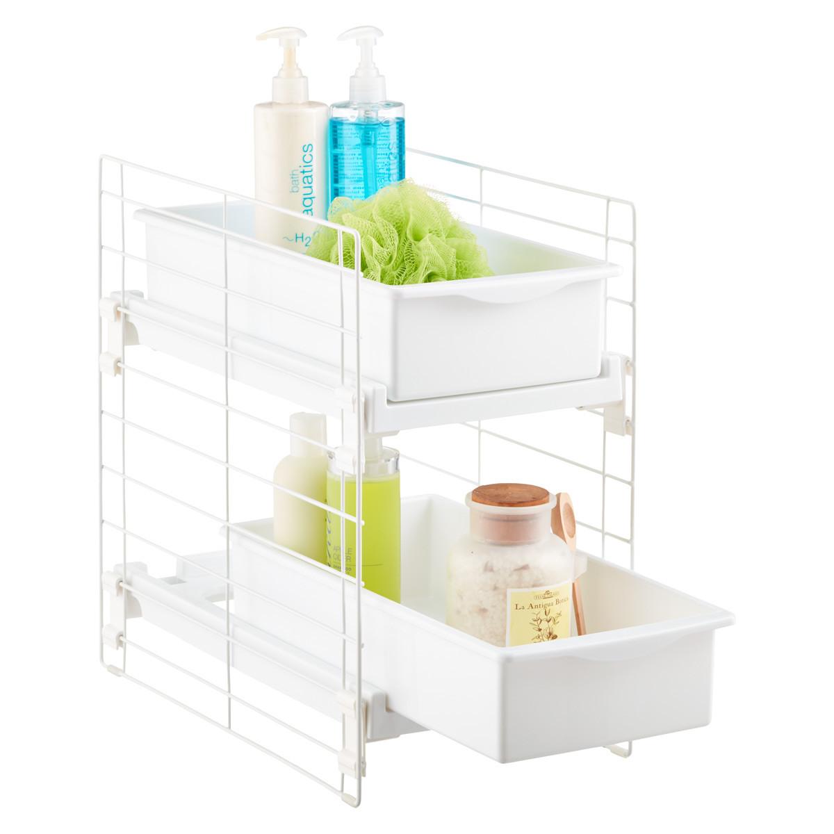 Best ideas about Bathroom Sink Organizer . Save or Pin Under Sink Organizers & Bathroom Cabinet Storage Now.