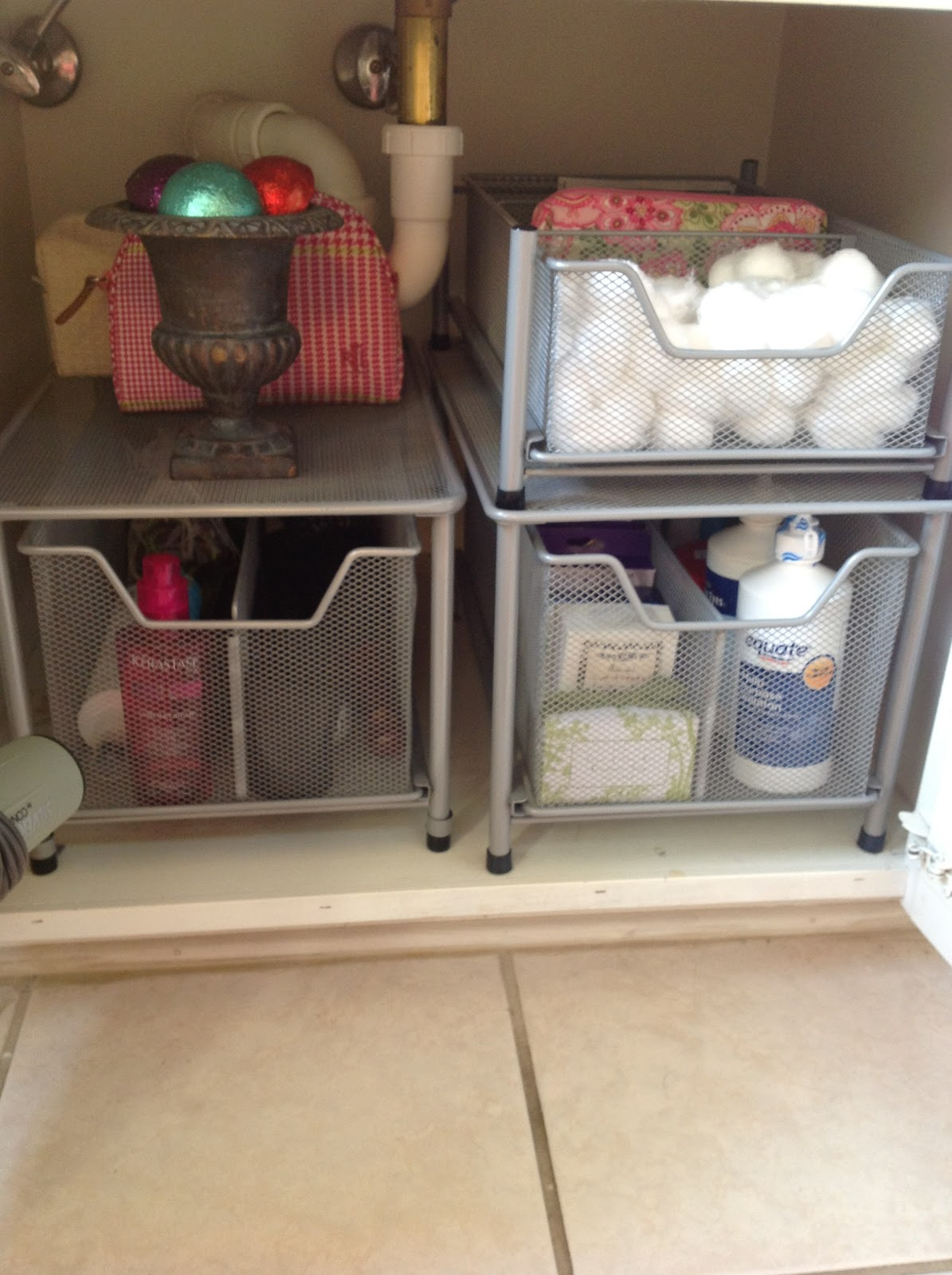 Best ideas about Bathroom Sink Organizer . Save or Pin O is for Organize Under the Bathroom Sink Now.