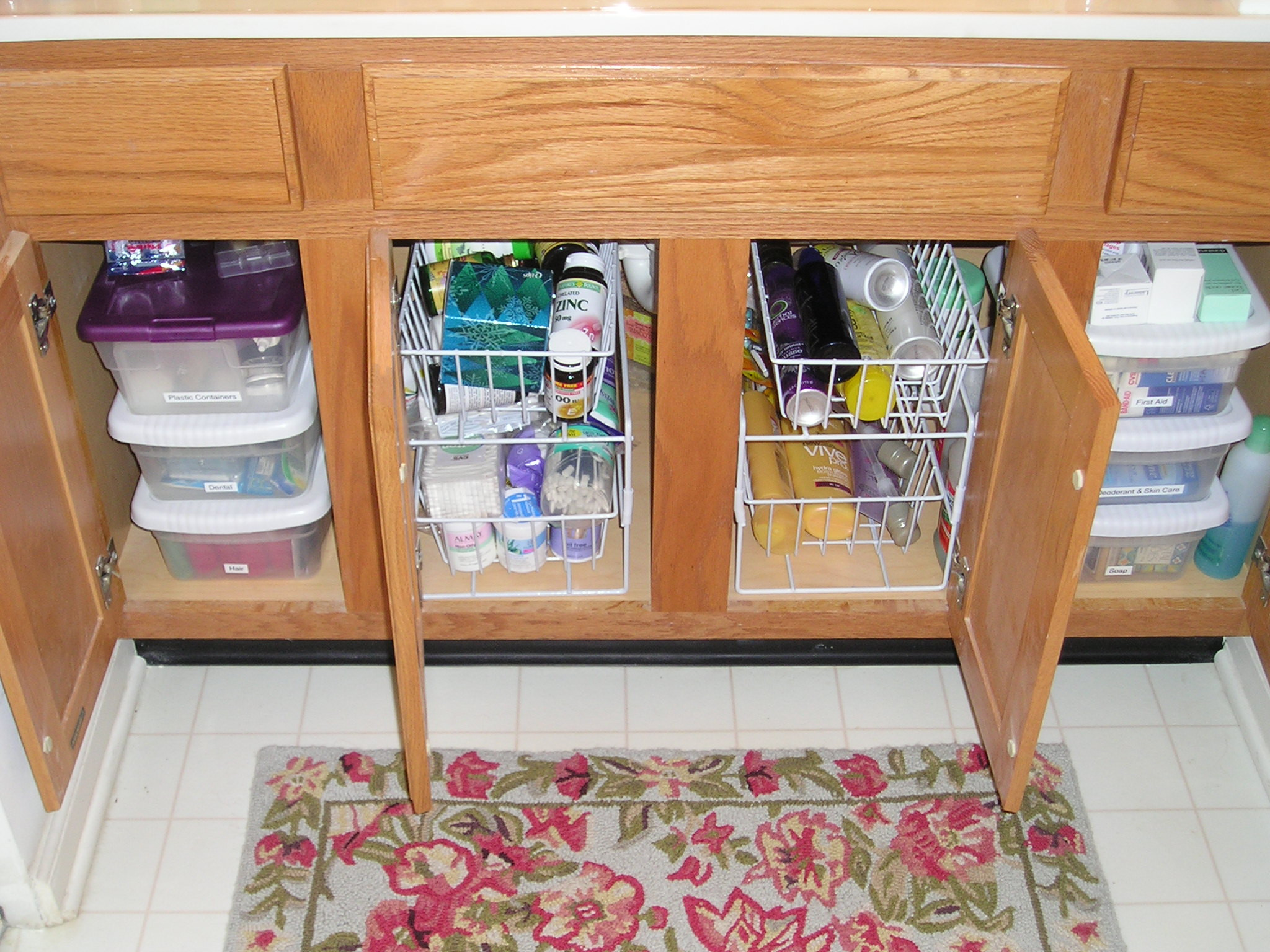 Best ideas about Bathroom Sink Organizer . Save or Pin A sort of Hoarder Reforms & organizes her spices in the Now.