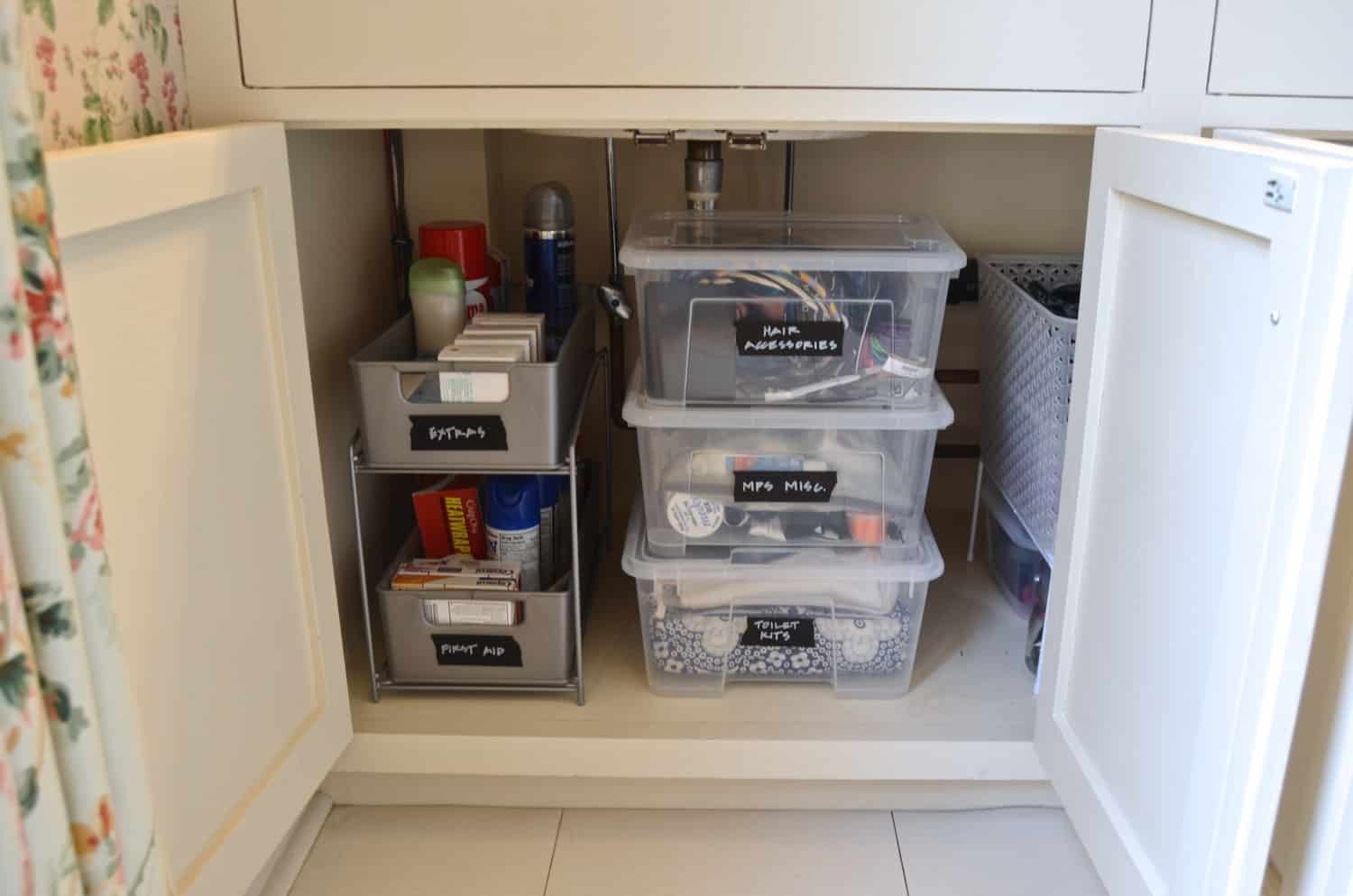 Best ideas about Bathroom Sink Organizer . Save or Pin How to Organize Under a Bathroom Sink Now.