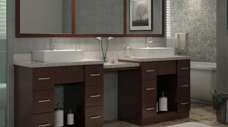 Best ideas about Bathroom Vanity Height . Save or Pin Bathroom Vanity Trends Hayneedle Now.