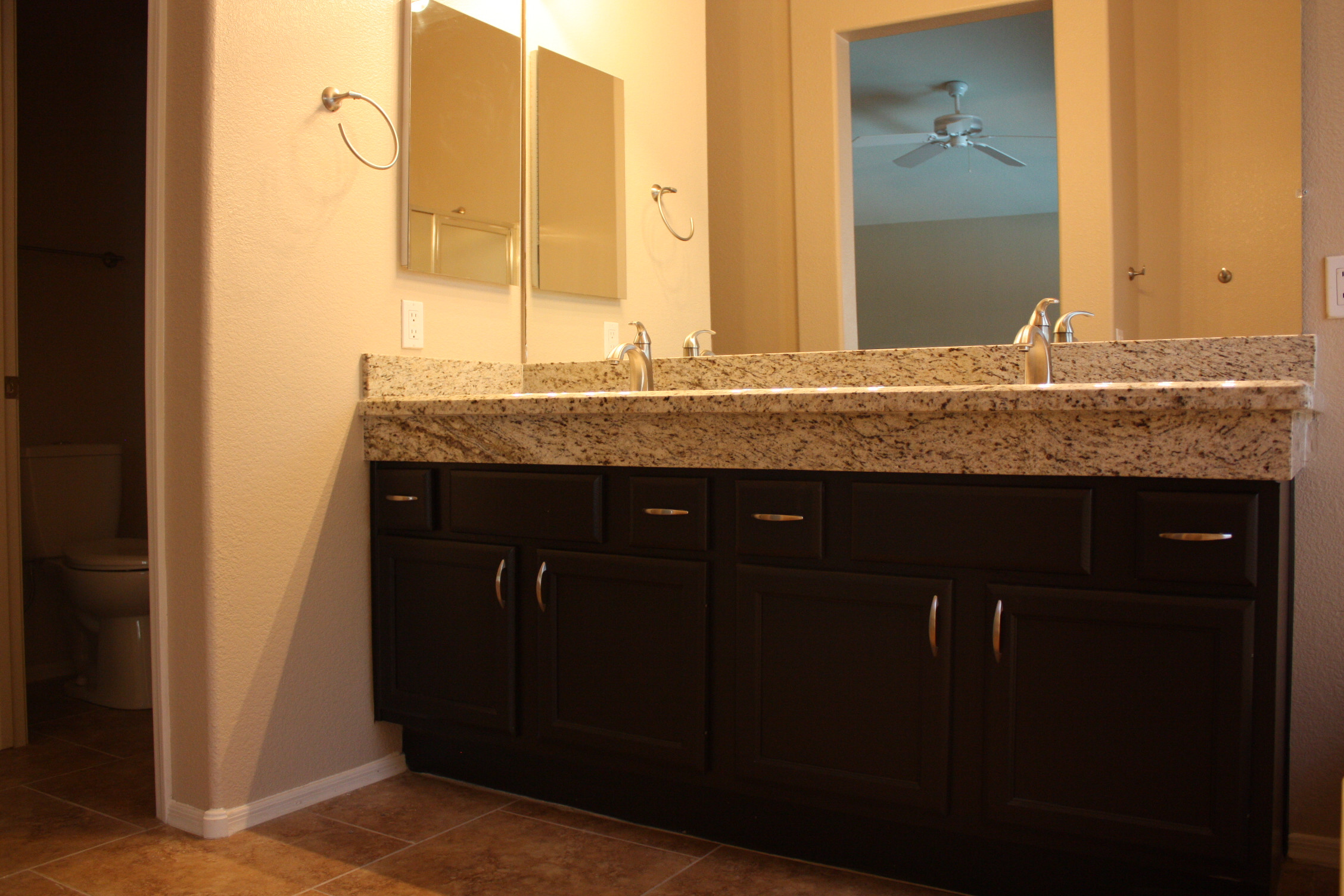 Best ideas about Bathroom Vanity Height . Save or Pin Raise the height of your bathroom counters Now.