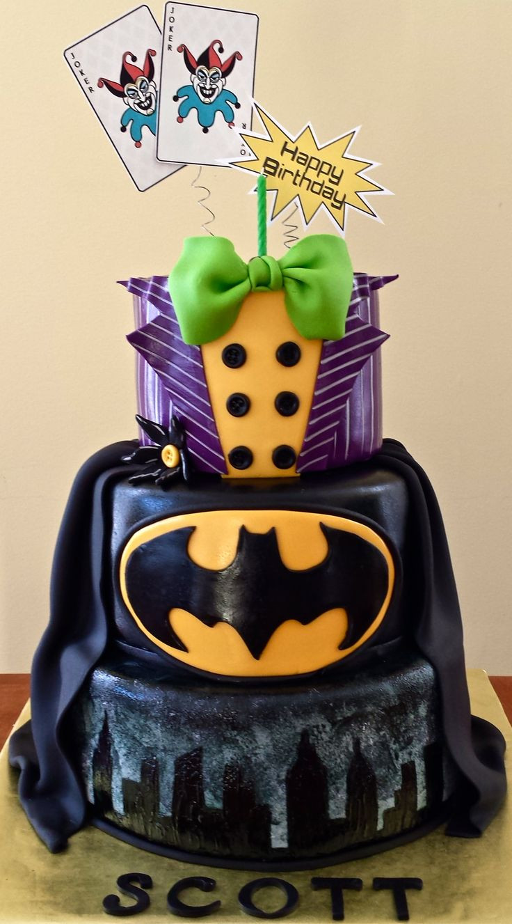 Best ideas about Batman Birthday Cake . Save or Pin The 25 best Batman cakes ideas on Pinterest Now.