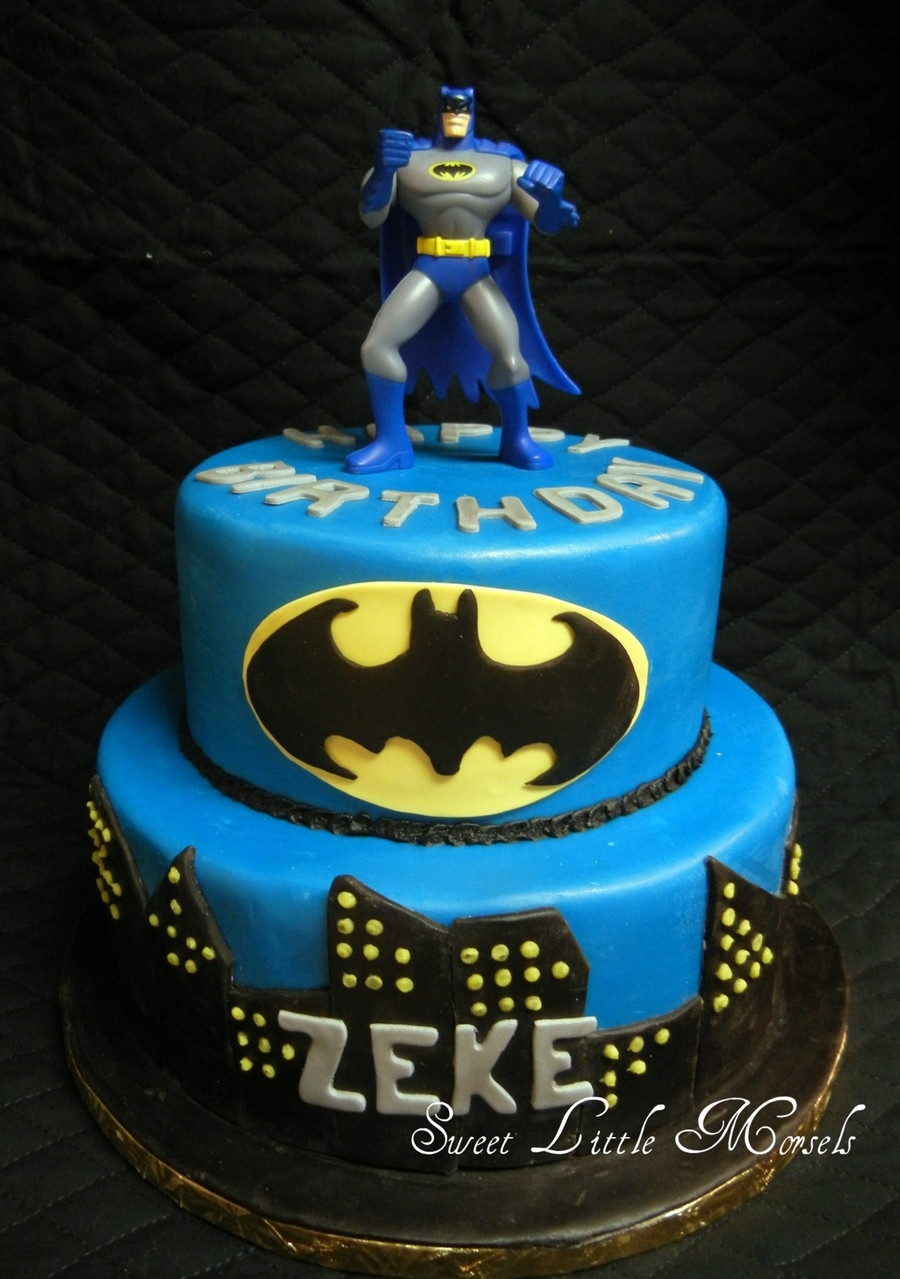 Best ideas about Batman Birthday Cake . Save or Pin Batman Cake CakeCentral Now.