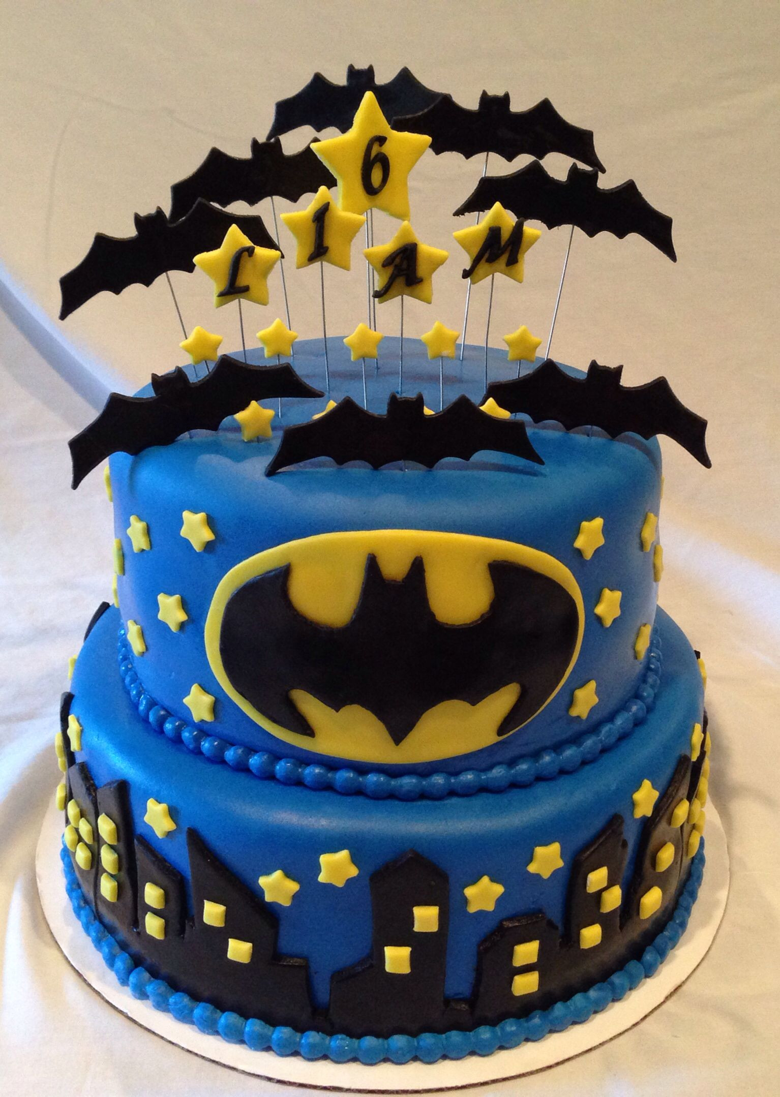 Best ideas about Batman Birthday Cake . Save or Pin Batman Cake Sweet Treats by Cherie Now.