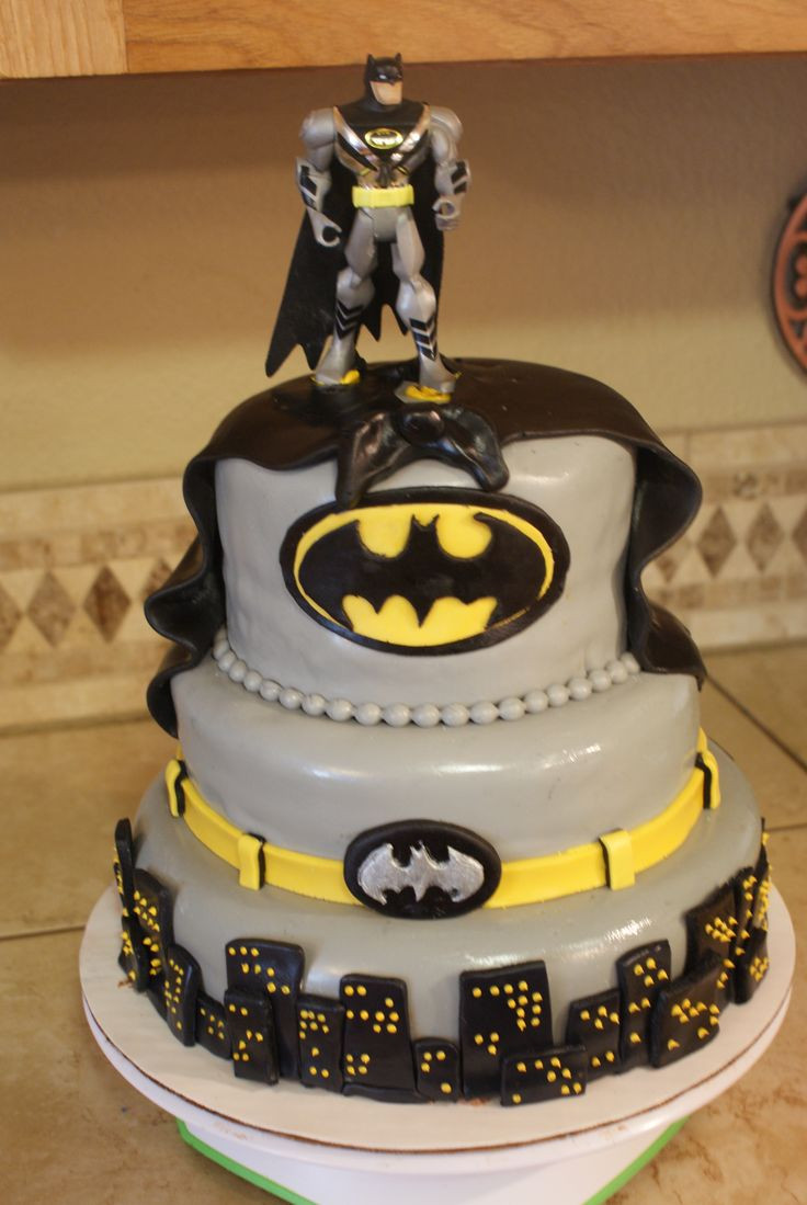 Best ideas about Batman Birthday Cake . Save or Pin 109 best images about kids cakes on Pinterest Now.