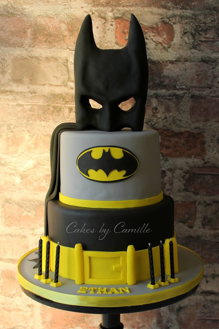 Best ideas about Batman Birthday Cake . Save or Pin Batman birthday cake with mask cape and belt Perfect for Now.
