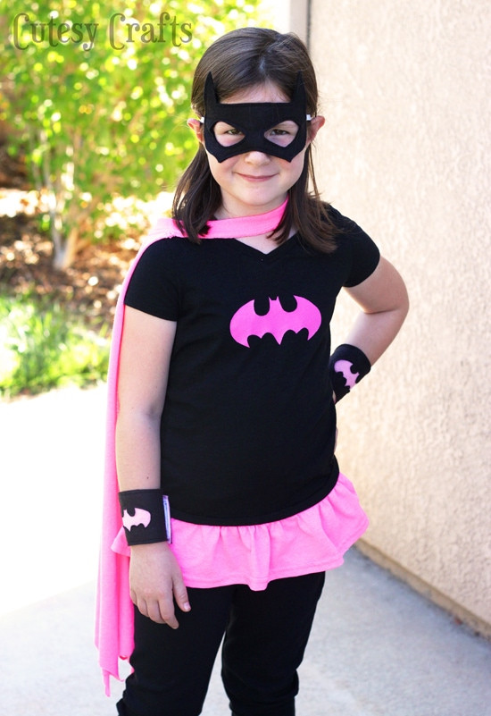 Best ideas about Batwoman Costume DIY . Save or Pin DIY Batgirl Costume from a T Shirt Cutesy Crafts Now.
