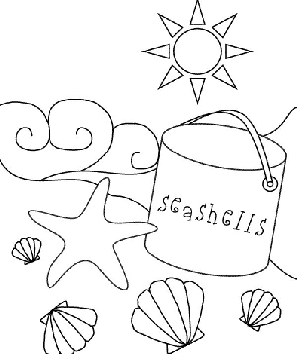 Best ideas about Beach Free Coloring Pages . Save or Pin Beach Coloring Pages For Kids Printable Now.