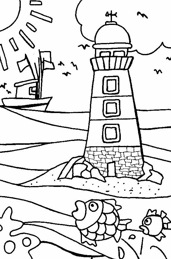 Best ideas about Beach Free Coloring Pages . Save or Pin Free Printable Beach Coloring Pages For Kids Now.