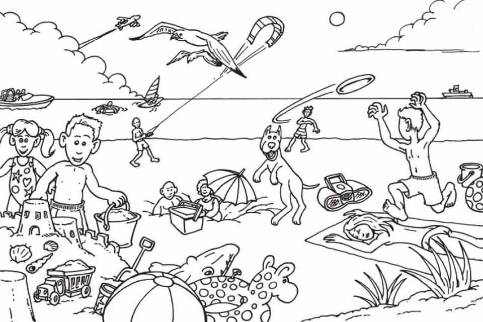 Best ideas about Beach Free Coloring Pages . Save or Pin 25 Free Printable Beach Coloring Pages Now.