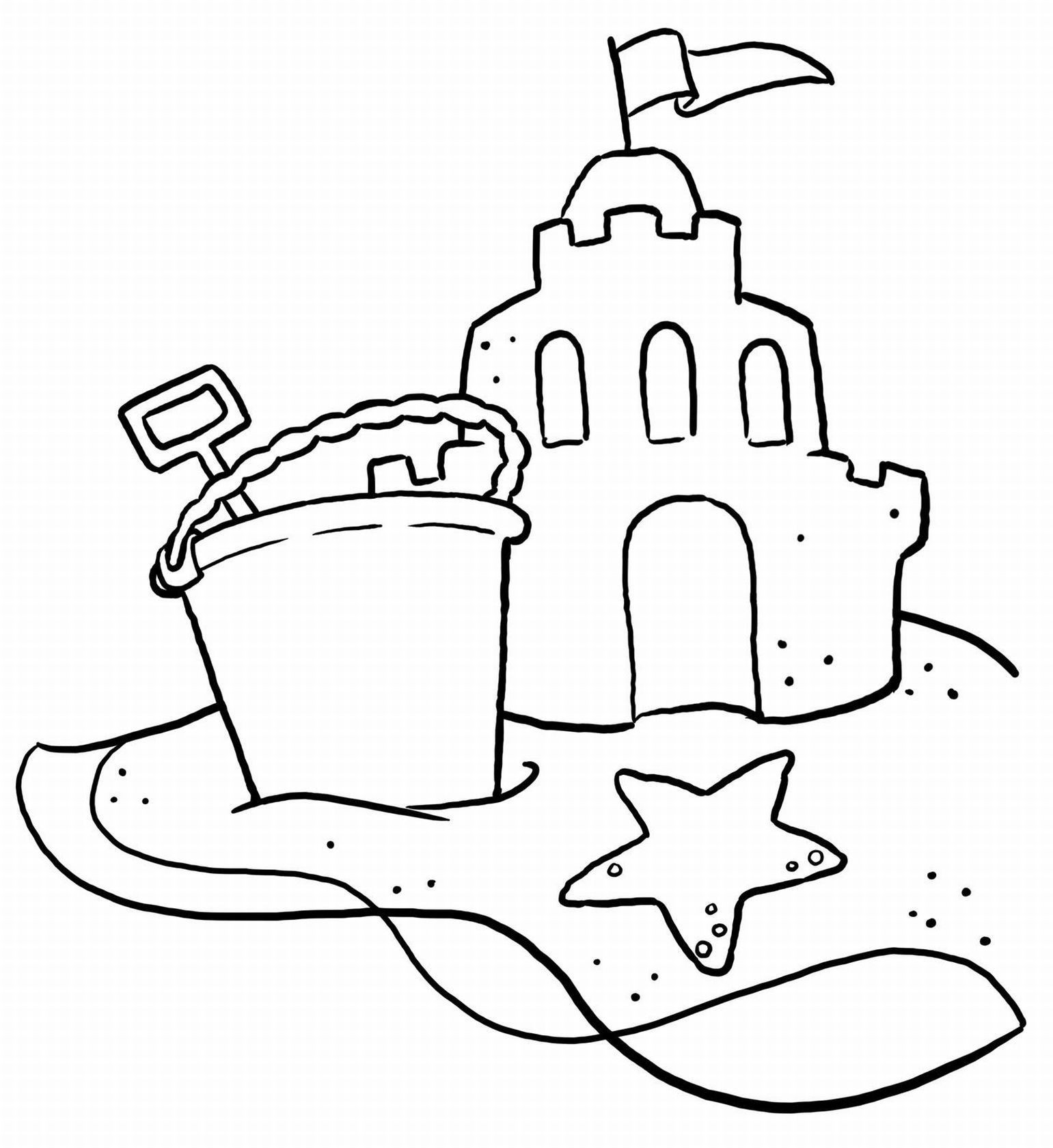 Best ideas about Beach Free Coloring Pages . Save or Pin Beach Coloring Pages 20 Free Printable Sheets to Color Now.