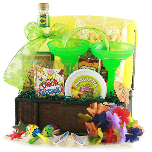 Best ideas about Beach Gift Basket Ideas . Save or Pin Summer Gift Ideas Tropical Treasures Beach Gift Basket Now.