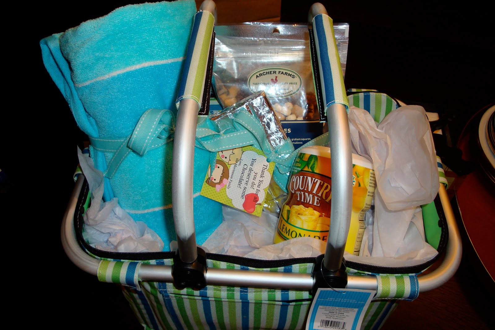 Best ideas about Beach Gift Basket Ideas . Save or Pin Teacher Gift Ideas The Polka Dot Chair Now.