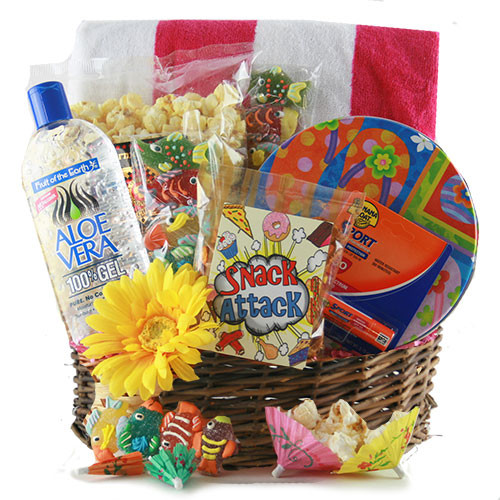 Best ideas about Beach Gift Basket Ideas . Save or Pin Summer Gift Ideas Fun in the Sun Beach Gift Now.