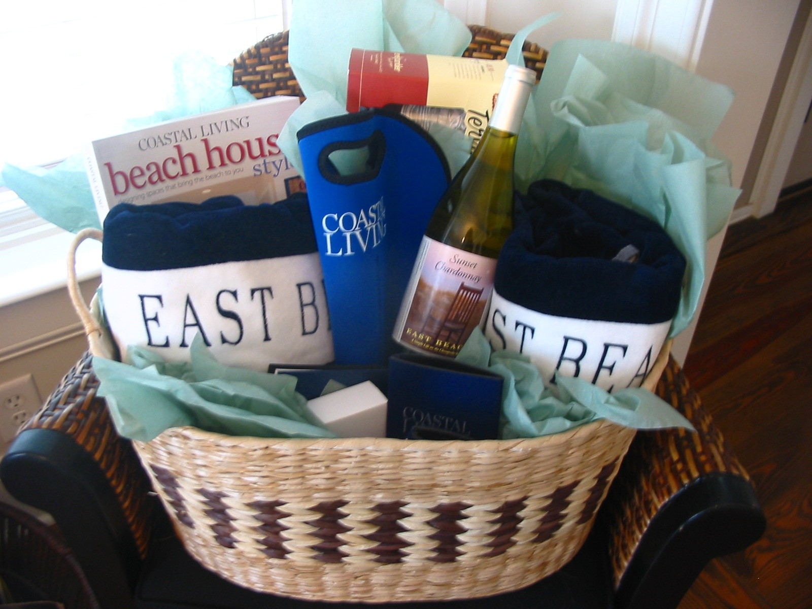 Best ideas about Beach Gift Basket Ideas . Save or Pin East Beach Now.