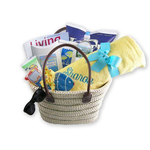 Best ideas about Beach Gift Basket Ideas . Save or Pin Best 25 Beach t baskets ideas on Pinterest Now.